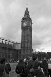 Big Ben ja turistit